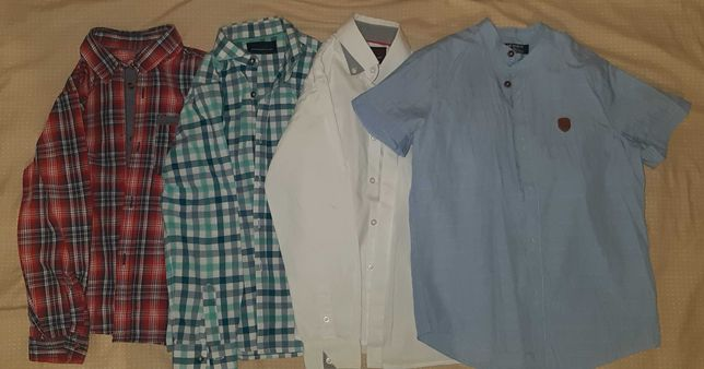 Фирменные рубашки для мальчика.