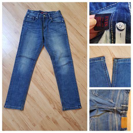 Spodnie z jeansu. Rozmiar 158 cm. Firma Evin.