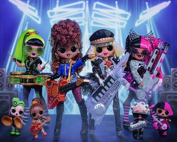 Большой набор LoL OMG Remix 8 кукол