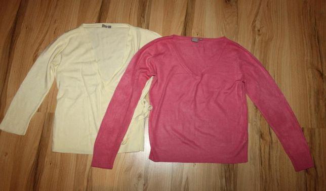 Sweterki, golfy, kamizelka roz L