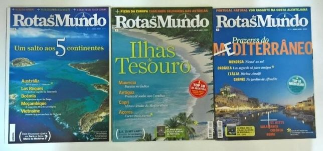 Revistas Rotas do Mundo (nº1 ao 34)