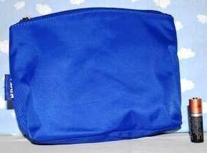 Синий пенал, карандаш с принтом в подарок