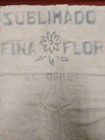 Cuf antigo saco de pano