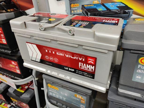 Akumulator Fiamm TITANIUM PRO 12V 90Ah 800A P+ Kraków