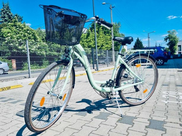 Rower damski miejski Sprick 28″ 21b przebieg < 100km garażowany