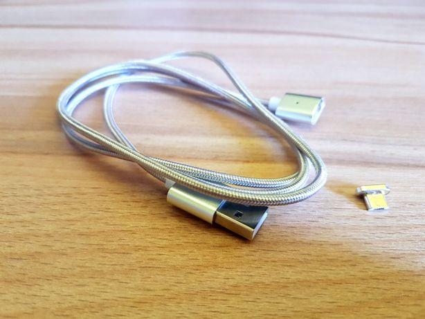 Kabel microUSB 2.0 magnetyczny