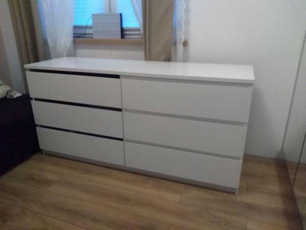 Komoda Ikea malm biała