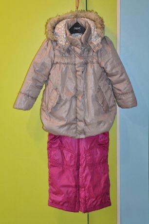 Куртка Chicco + полукомбинезон Gap 98р.