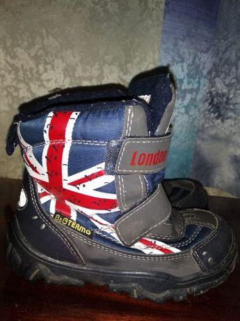 Ботинки, сапоги размер 28 можно 27