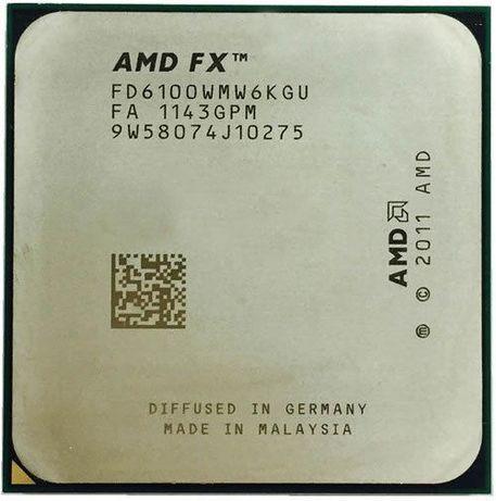 Процессоры AMD FX 6 ядер сокет AM3+ tray б/у Гарантия