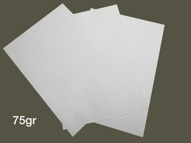 Folhas Sublimação e Transfer A3 Finas 75gr - Personalizar vestuário