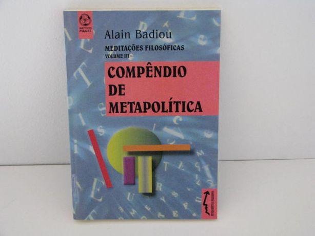 Compêndio de metapolitica - Meditações filosóficas, volume III