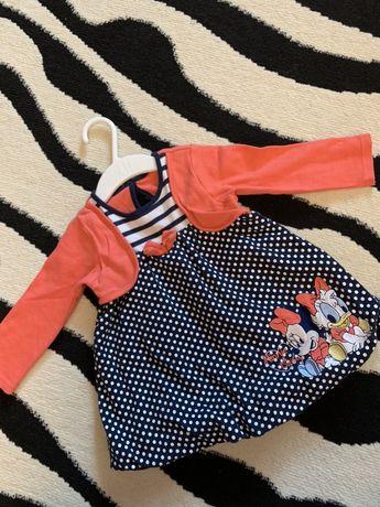 Платье модное на девочку Disney, h&m, zara