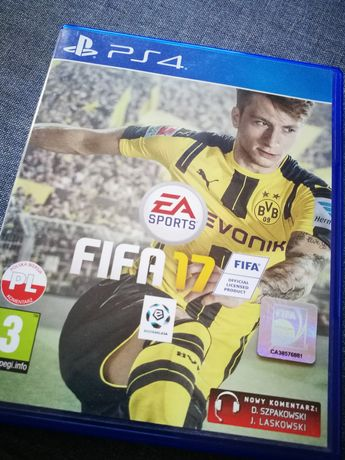 Gra FIFA 17 PS4 PlayStation 4