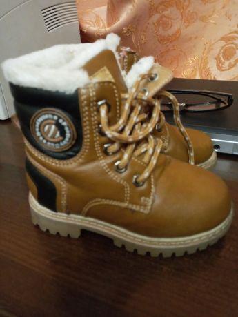 Сапожки кожаные зимние для мальчика или девочки