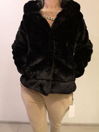Kurtka zimowa, płaszcz, futro S M L XL
