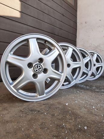 Felgi 15 VW 4x100 6J et45