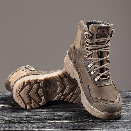 Мужские зимние ботинки на мембране кожаные чоловічі зимові ботинки кож