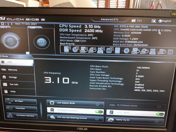 Motherboard MSI Z370-A PRO (MS7B48)