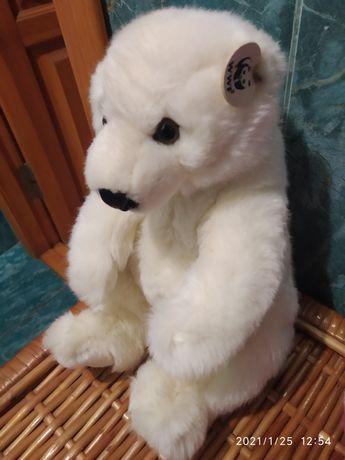 Игрушка белый медведь