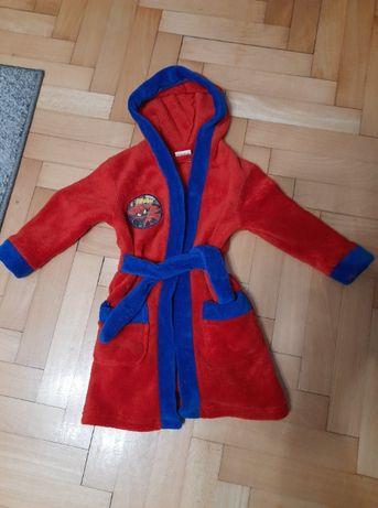 Szlafrok dla chłopca Spiderman 92/98 2-3 lata