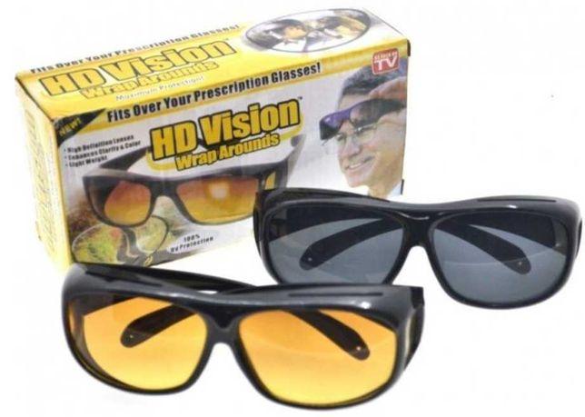 Акция! Антибликовые очки для водителей HD Vision