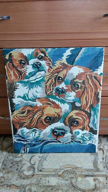 Продам картина на холсте маслом 42×50