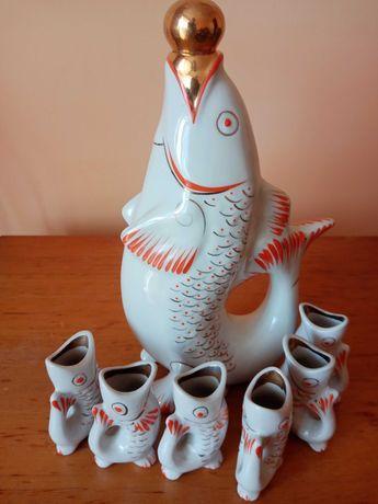 Посуда СССР,рыбки , антиквариат, винтаж,раритет.