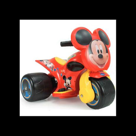Super extra myszka miki trójkołowy motor na akumulator jeździk