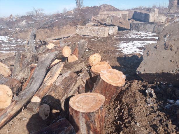 Продам дрова разные рубаные