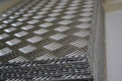 Blacha aluminiowa ryflowana 125x250 2mm