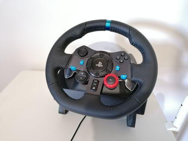 Volante + Pedais Logitech G29 + Mudanças (Oferta Teclado Gaming RGB)