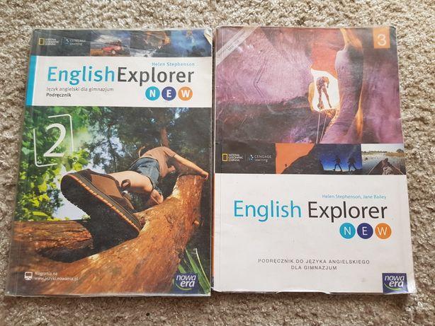 English Explorer 1 i 2 angielski