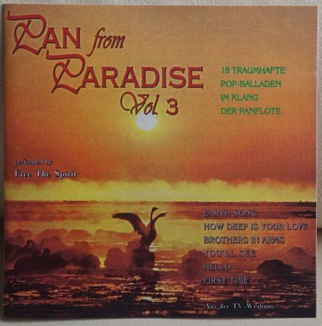 Free The Spirit – Pan From Paradise Vol.3 CD