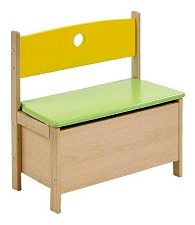 OUTLET - ławka ławeczka siedzisko dla dzieci dziecięce ze schowkiem