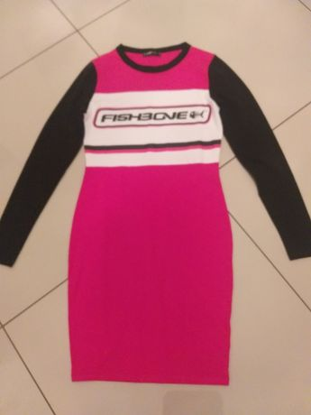 Śliczna  sukienka Fishbone Nowa bez metki