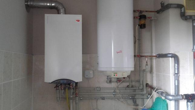 Piece gazowe, instalacje gazowe, przestawianie gazomierzy,