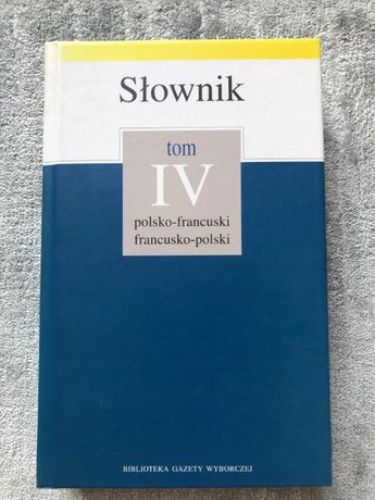 Słownik polsko-francuski, francusko-polski z gramatyką