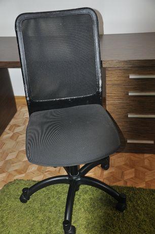 Krzesło biurowe krzesło obrotowe skórzane IKEA