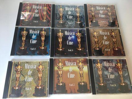 CDs - Música de Cine (20 volumes disponiveis)