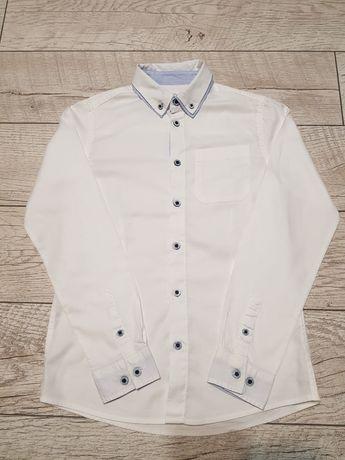 Koszula biała CoolClub Smyk rozm. 146