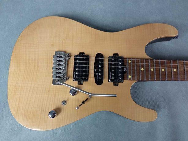 Harley Benton Fusion-II HSH Roasted FNT-gitara-typ Superstrat