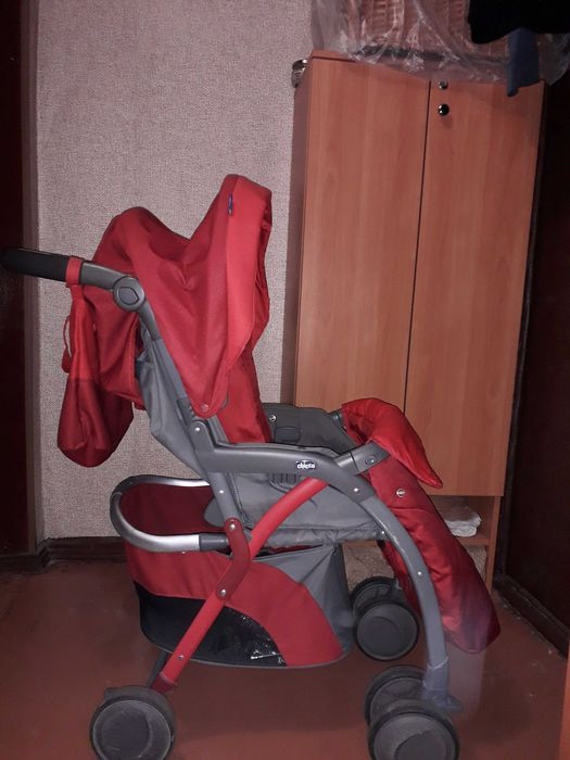 Коляска- тросточка chicco Чернигов - изображение 1