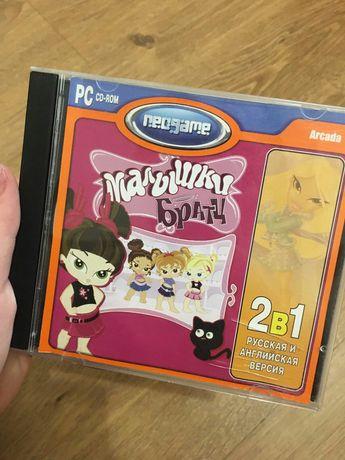 Игры компьютерные детские, фильмы на дисках