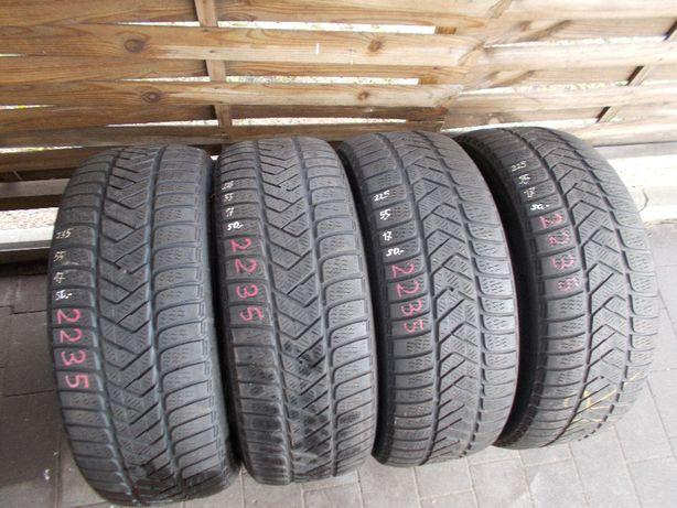 4x Pirelli 225/55/17 2017rok