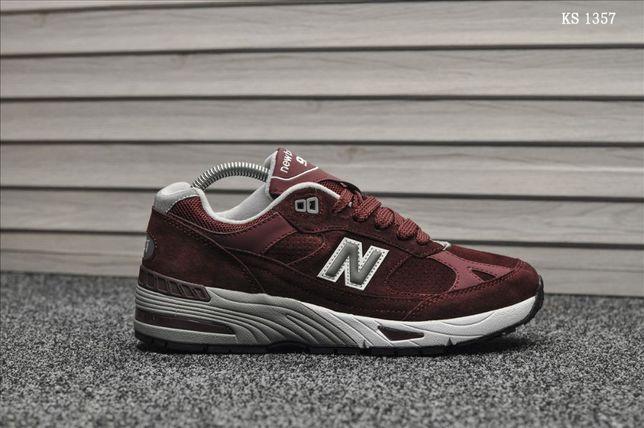 Кроссовки мужские New Balance 991! Артикул: KS 1357