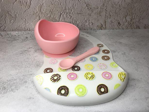 Силиконовая посуда для прикорма/ набір силіконового посуду