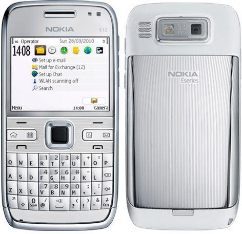 TELEFON NOKIA E72 -1 RM-530 srebrna !METALOWA OBUDOWA tanio !