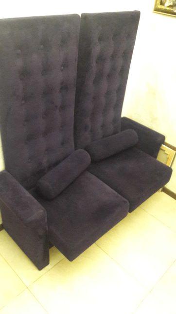 Банкетка у офіс прихожу коридор велика спинка королівський диван