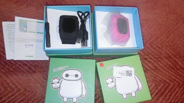DLA DZIECI SMARTWATCH GPS lokalizator zegarek Q50